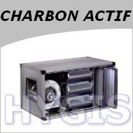 Caisson charbon actif dynamique - Hotte de cuisine avec filtre a charbon ...